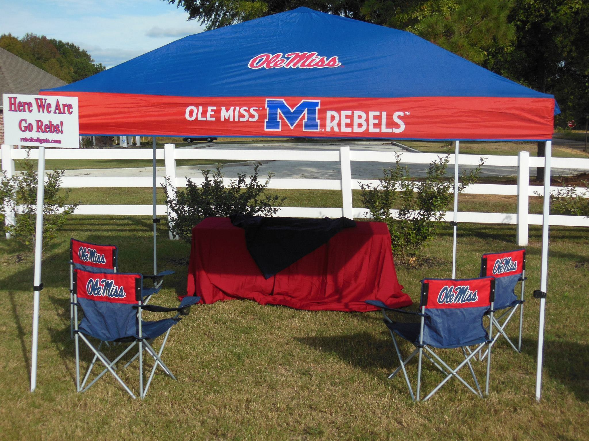 Rebel Tailgate Serving The Grove Community